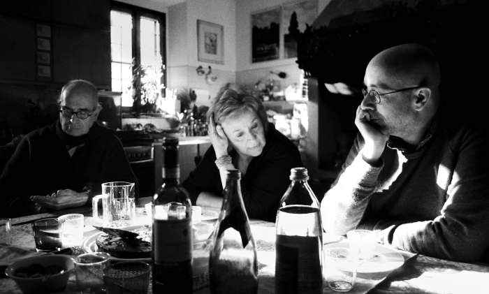 Mes parents avec Tommaso, Florence, 2012