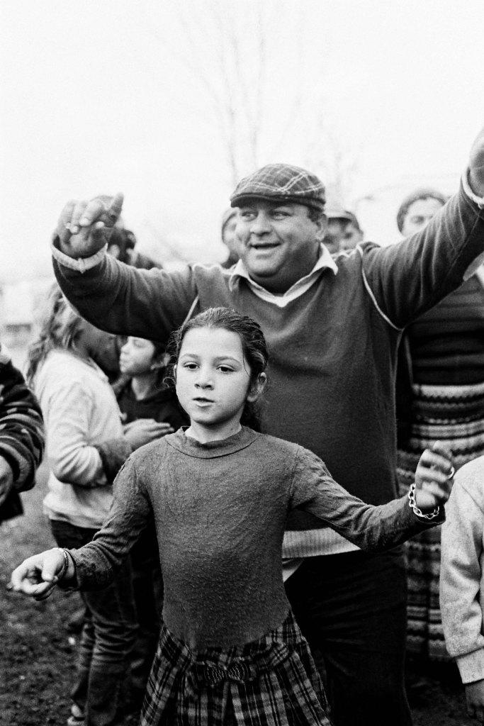Danse chez des Roms Vlah , Pierrefitte, 2012