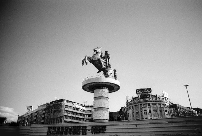 Alexandre le grand, Skopje, Macédoine, 2011