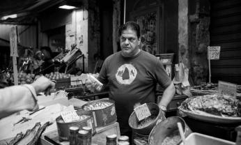 Palerme, marché de Ballarò