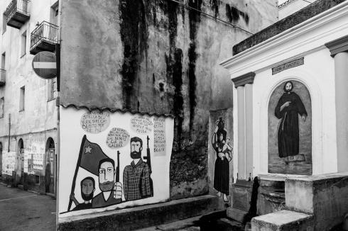 orgosolo, Sardaigne, peintures murales