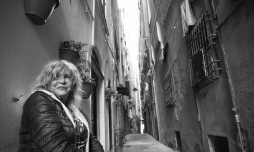 Rossella Bianchi, présidente de l'association Princesa qui réunit les prostituées transsexuelles, Gênes