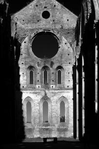 Abbaye de San Galgano, Toscane